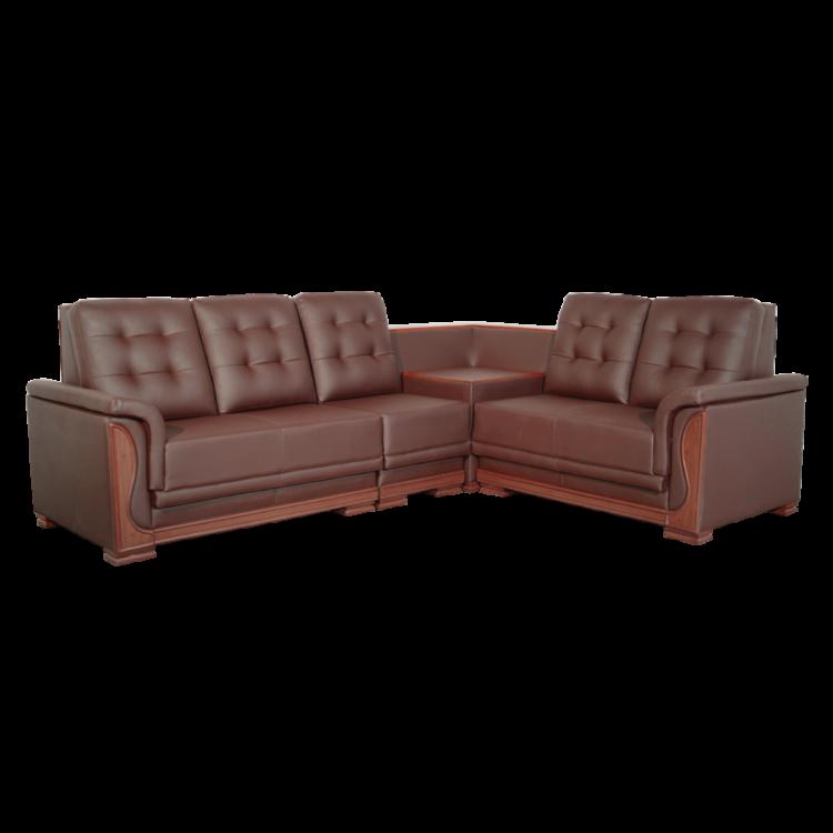 Asharee Elangant-Oracle Sectional Sofa Brown