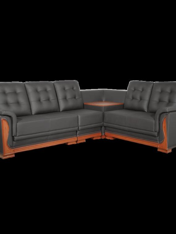Asharee Elangant-Oracle Sectional Sofa Black